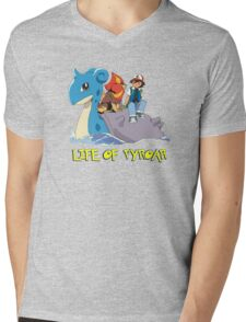 Life Of Pyroar Mens V-Neck T-Shirt