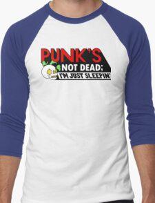 Punk's Not Dead; Men's Baseball ¾ T-Shirt