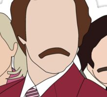 Anchorman faceless Sticker