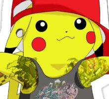 Poke' Punks - #25 Pikachu Sticker