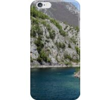 Italian landscapes - Lake San Domenico  iPhone Case/Skin