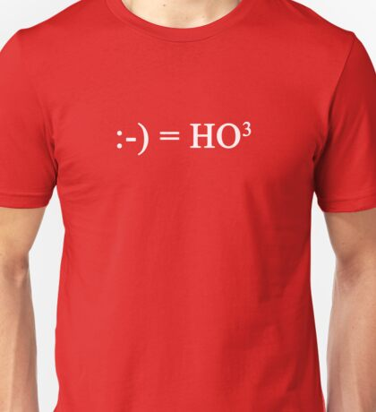 HO-HO-HO Equation Unisex T-Shirt