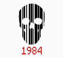 Barcode Skull 1984 Unisex T-Shirt