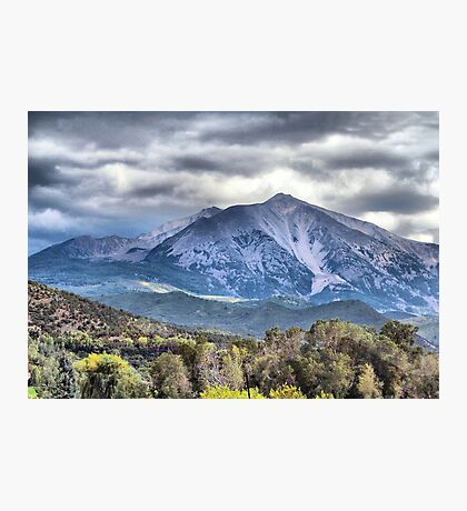 Mt. Sopris Carbondale Colorado Photographic Print