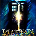 Doctor Who 50th Anniversary - Tardis Unbound by Reverendryu