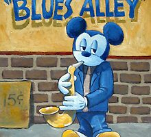 Blues Alley by Robert Holewinski