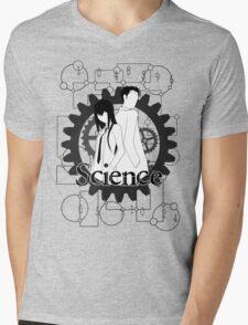Divergence (grey version) Mens V-Neck T-Shirt