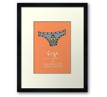 Star Signs: Virgo Framed Print