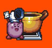 Chef Kirby with Cookpot by Funkymunkey