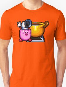Chef Kirby with Cookpot T-Shirt