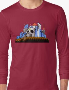Dr Wily's Castle Long Sleeve T-Shirt