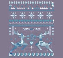 Game Over - 8-bit Ugly Christmas Sweater Kids Tee