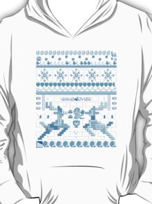 Game Over - 8-bit Ugly Christmas Sweater T-Shirt