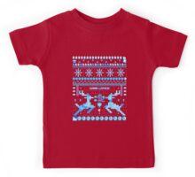 Game Over - 8-bit Ugly Christmas Sweater Kids Tee