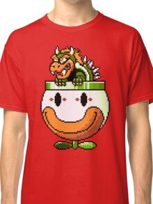 Bowser and Clown Copter Classic T-Shirt