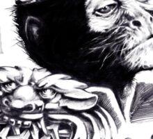 Monkey king sun wukong Sticker
