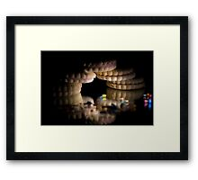 Cookie Bridge Framed Print