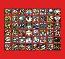Yoshi's Island Level Icons One Piece - Long Sleeve