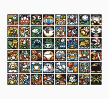 Yoshi's Island Level Icons Kids Clothes