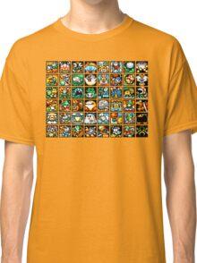 Yoshi's Island Level Icons Classic T-Shirt