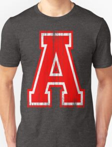 Big Red Letter A T-Shirt