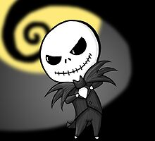 Jack Skellington by GummiZombie