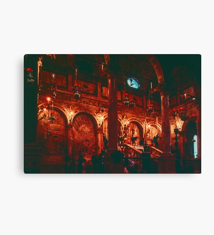 Chapel of St Anthony St Anthony cathedral Padua Italy 19840417 0014 Canvas Print