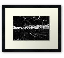 The Fallen Cross Framed Print