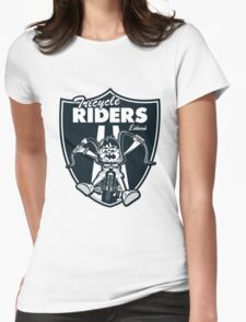 Tricycle Riders Womens Fitted T-Shirt