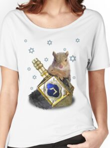 Hanukkah Squirrel Women's Relaxed Fit T-Shirt