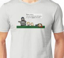 Walking Dead into South Park Unisex T-Shirt