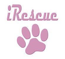 iRescue - animal cruelty, vegan, activist, abuse Photographic Print