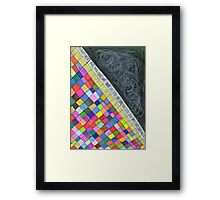 Colorful Piano Framed Print