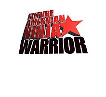 FUTURE American Ninja Warrior Photographic Print