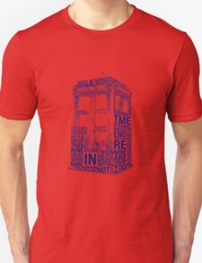 Tardis of quotes  T-Shirt