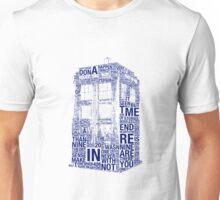 Tardis of quotes  Unisex T-Shirt