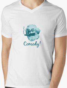 Comedy! Mens V-Neck T-Shirt