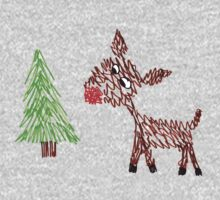 Rudolph the Red-Nosed Doodle Kids Clothes