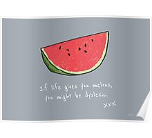 If Life Gives You Melons Poster