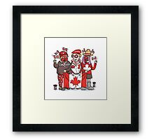 Canadians | By Graeme MacKay Framed Print