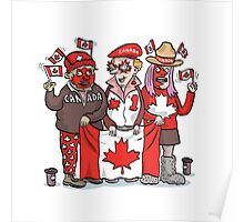 Canadians   By Graeme MacKay Poster