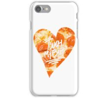 Touch My Butt Pizza iPhone Case/Skin