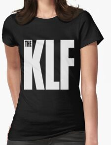 The KLF Logo (White) Womens Fitted T-Shirt