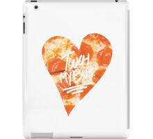 Touch My Butt Pizza iPad Case/Skin
