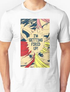 Fairy Tail Fired Up (Color) Unisex T-Shirt