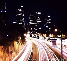 Sydney Road at Night by James Toh