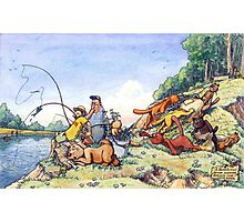 Summer fishing. Big catch Photographic Print