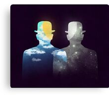 Of day and night Canvas Print