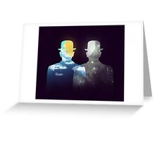 Of day and night Greeting Card