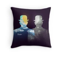 Of day and night Throw Pillow